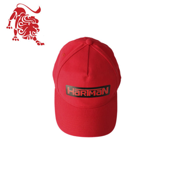 """Бейсболка красного цвета с логотипом """"HARTMAN"""""""