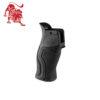 Пистолетная рукоятка прорезиненная GRADUS для M16/M4/AR15 Черная
