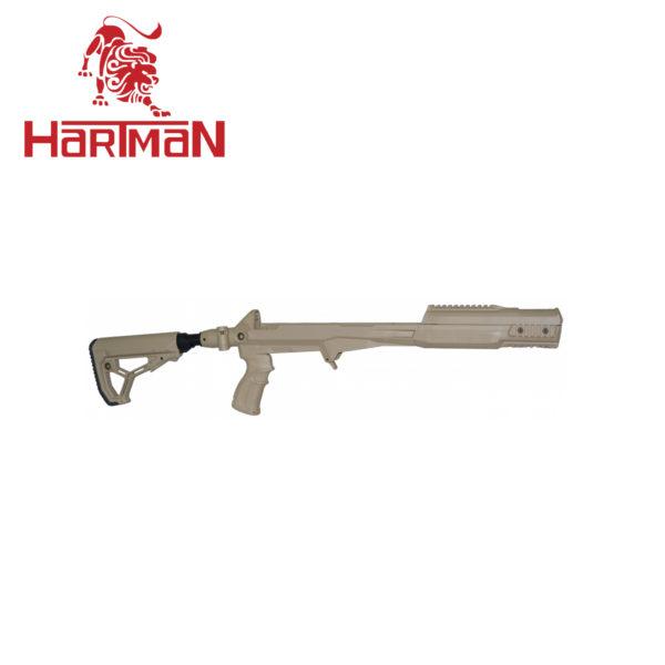 Ложе с рукояткой, прикладом GL-CORE и амортизирующей трубкой для СКС, бежевый