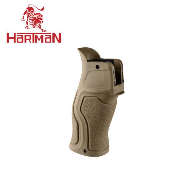 Пистолетная рукоятка прорезиненная GRADUS для M16/M4/AR15 (Бежевая)