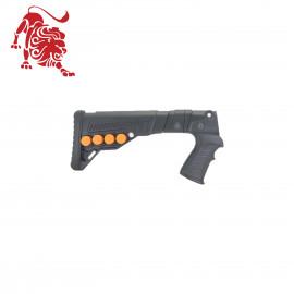 Приклад складной DLG для Asil Silah, Armsan, Altobelli Arms, Balikli Silah, Hatsan, Huglu Atrox, Set Arms, Uzkon TR-X