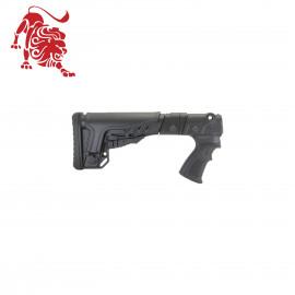 Складной приклад DLG на Remington с подщечником