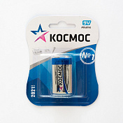 9V Батарейка КОСМОС 6LR61 BL1