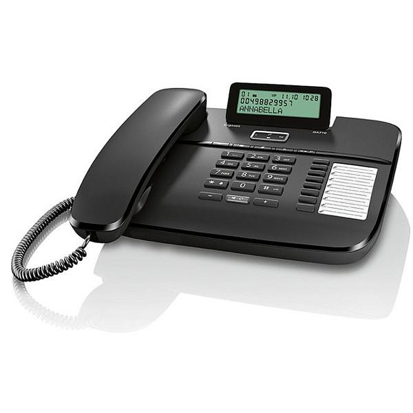 Телефон проводной Gigaset DA710 чёрный