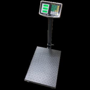 Весы напольные товарные SIBS-300N  с индикатором из нержавеющей стали.