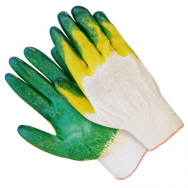 Перчатки х/б с полимерным покрытием