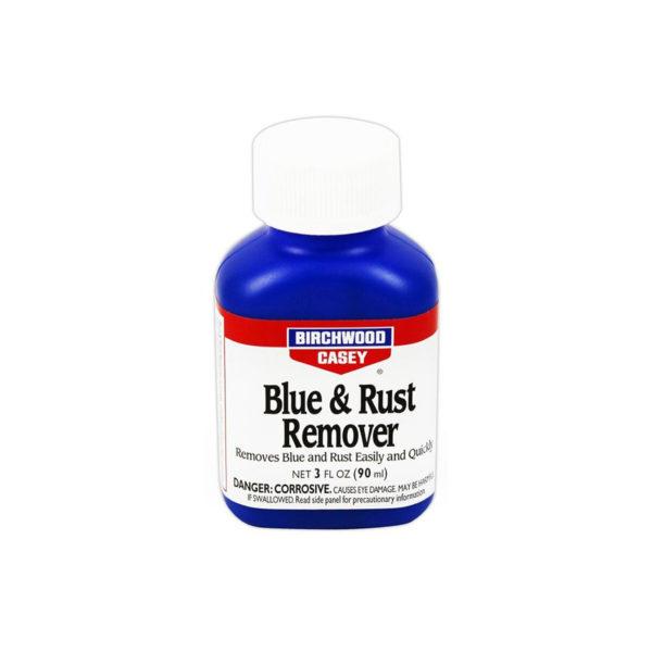 Средство для удаления ржавчины и воронения Birchwood Blue & Rust Remover 90 мл.