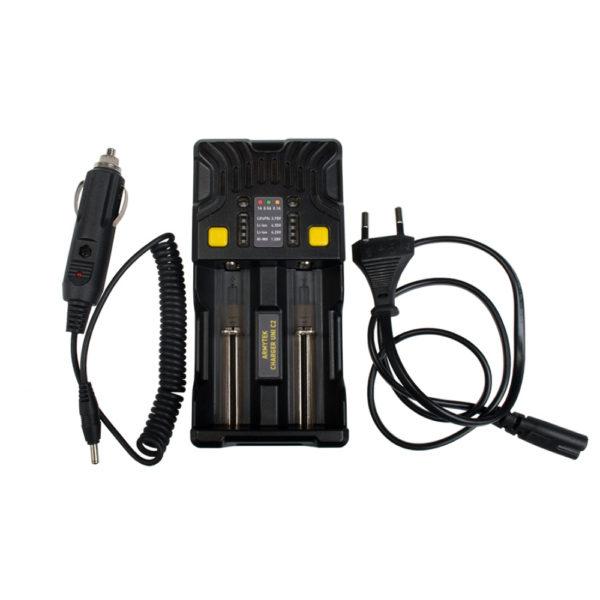 Универсальное зарядное устройство ARMYTEK UNI C2 A02401C