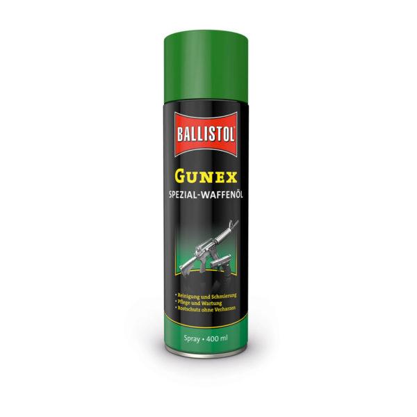Масло оружейное Ballistol Gunex spray 400мл