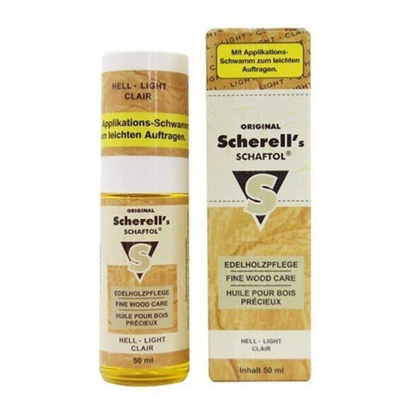 Средство для обработки дерева Klever-Ballistol Scherell Schaftol 50мл (бесцветное)